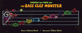 Product Cover for Freddie the Frog and the Bass Clef Monster Poster