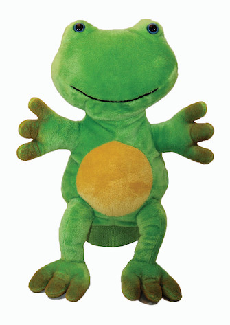 Product Cover for Freddie the Frog Kid's Puppet