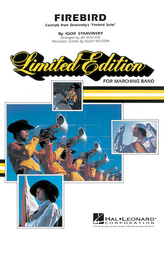 Product Cover for Firebird - Marching Band