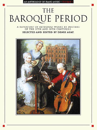 Product Cover for An Anthology of Piano Music Volume 1: The Baroque Period