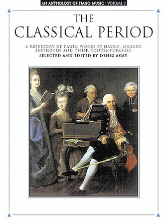 Product Cover for An Anthology of Piano Music Volume 2: The Classical Period