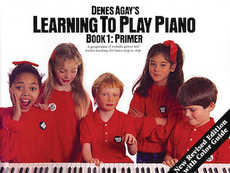 Product Cover for Learning to Play Piano Book 1 – Getting Started