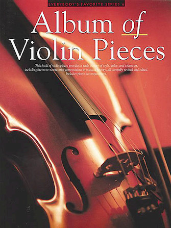 Product Cover for Album of Violin Pieces