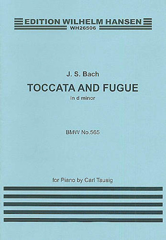Product Cover for J.S.Bach: Toccata And Fugue In D Minor (Piano)