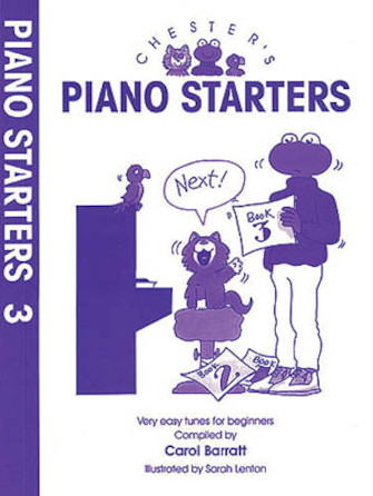 Product Cover for Chester's Piano Starters Volume Three