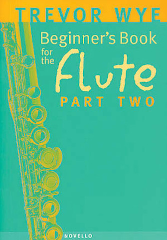 Product Cover for Beginner's Book for the Flute – Part Two