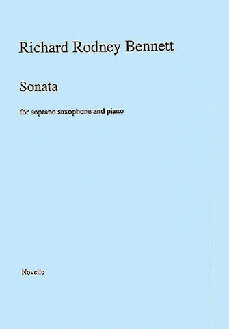 Product Cover for Richard Rodney Bennett: Sonata for Soprano Saxophone and Piano