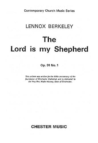 Product Cover for The Lord Is My Shepherd – Op. 91, No. 1