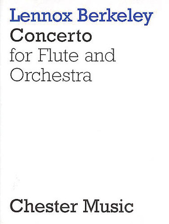 Product Cover for Lennox Berkeley: Concerto For Flute And Orchestra Op.36 (Flute/Piano)