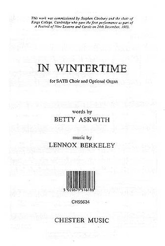 Product Cover for Lennox Berkeley: In Wintertime Op.103