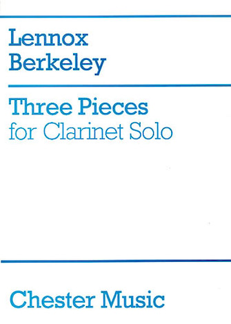 Product Cover for Three Pieces for Clarinet Solo