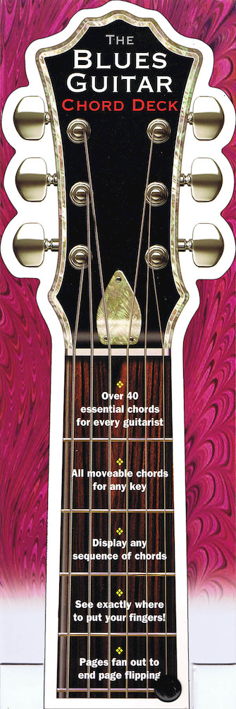 Product Cover for The Blues Guitar Chord Deck