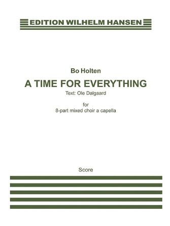 Product Cover for A Time for Everything