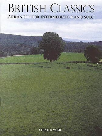 Product Cover for British Classics Arranged For Intermediate Piano Solo