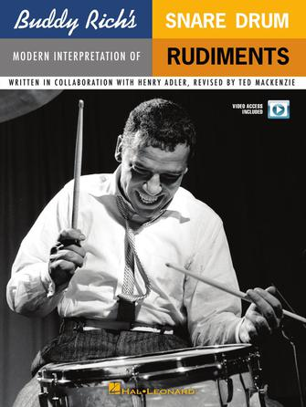 Product Cover for Buddy Rich's Modern Interpretation of Snare Drum Rudiments