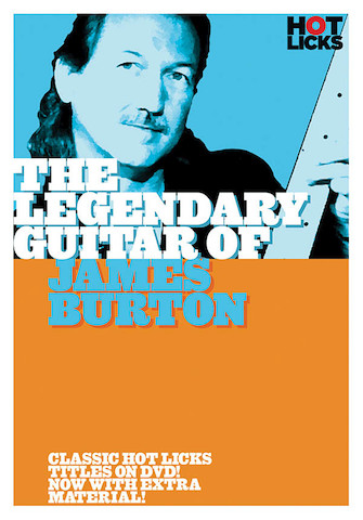 Product Cover for The Legendary Guitar of James Burton