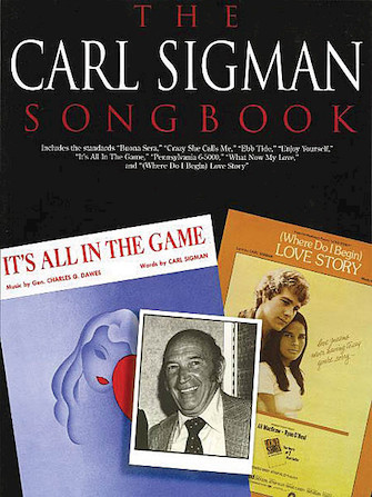 Product Cover for The Carl Sigman Songbook