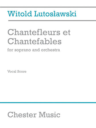 Product Cover for Chantefleurs et Chantefables