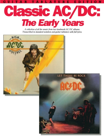 Product Cover for Classic AC/DC: The Early Years