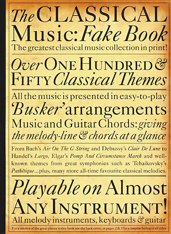 Product Cover for The Classical Music Fake Book