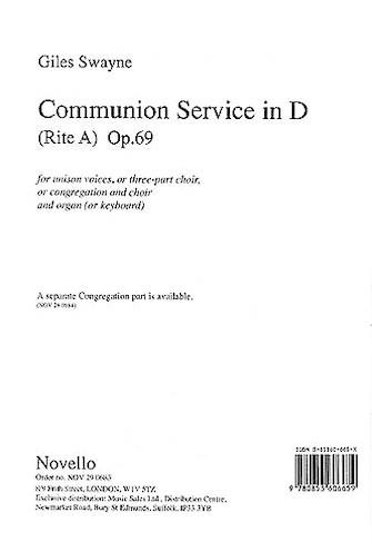 Communion Service in D