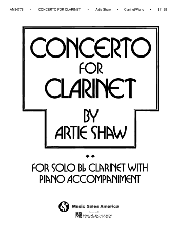 Product Cover for Artie Shaw – Concerto for Clarinet