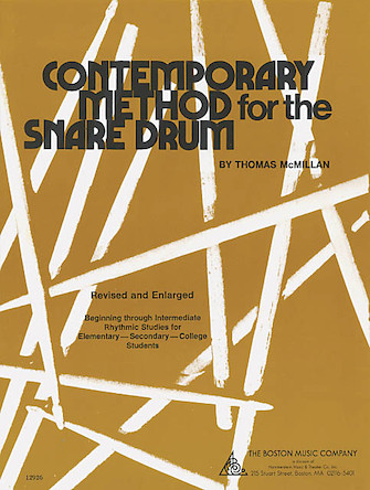 Product Cover for Contemporary Method for Snare Drum