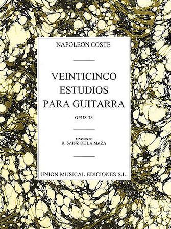Product Cover for 25 Estudios para Guitarra