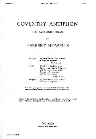 Product Cover for Coventry Antiphon