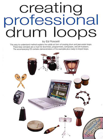 Product Cover for Creating Professional Drum Loops
