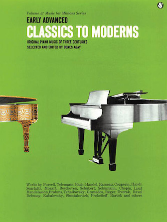 Product Cover for Early Advanced Classics to Moderns