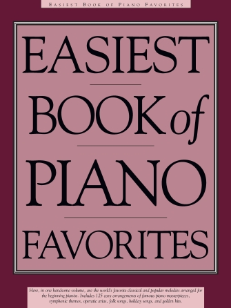 Product Cover for Easiest Book of Piano Favorites
