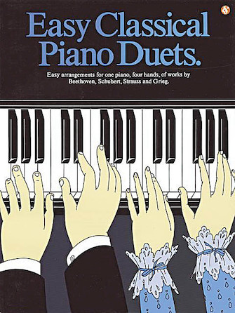 Product Cover for Easy Classical Piano Duets