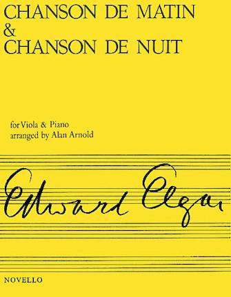 Product Cover for Chanson de Matin and Chanson de Nuit
