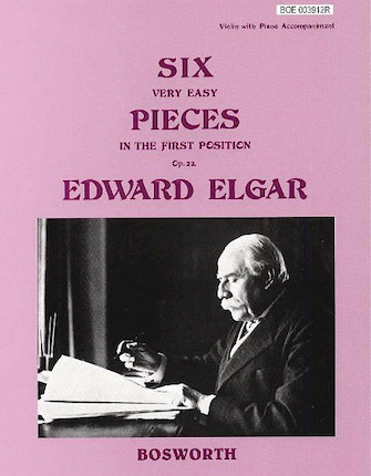 Product Cover for 6 Very Easy Pieces for Violin Op. 22