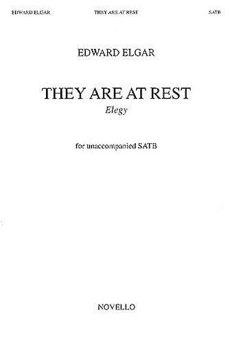 Product Cover for They Are at Rest