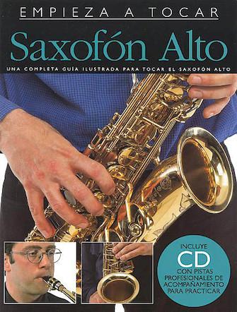 Product Cover for Empieza A Tocar Saxofon Alto