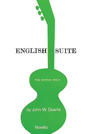 Product Cover for English Suite for Guitar