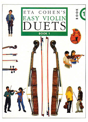 Product Cover for Easy Violin Duets – Book 1