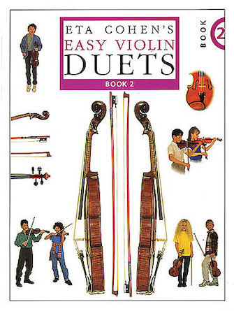 Product Cover for Eta Cohen's Easy Violin Duets – Book 2