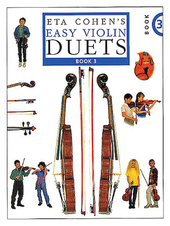 Product Cover for Eta Cohen's Easy Violin Duets – Book 3