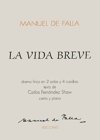 Product Cover for La Vida Breve