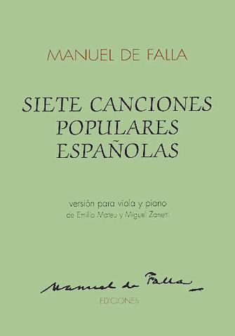 Product Cover for 7 Canciones Populares Espanolas