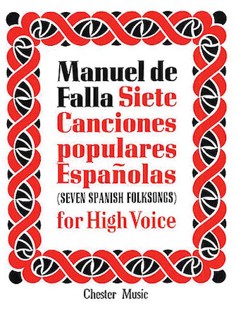 Product Cover for De Falla: 7 Canciones Populares Espanolas