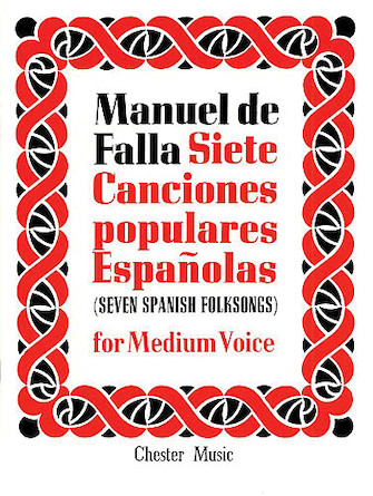 Product Cover for De Falla: 7 Canciones Populares Espanolas