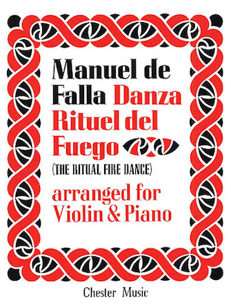 Product Cover for De Falla: Ritual Fire Dance From El Amor Brujo For Violin and Piano