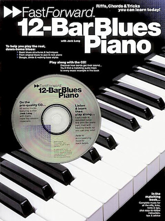 Product Cover for 12-Bar Blues Piano – Fast Forward Series