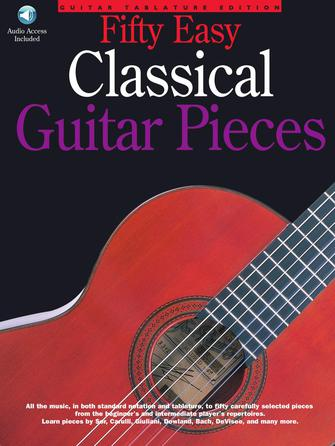 Product Cover for 50 Easy Classical Guitar Pieces