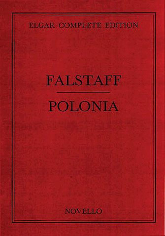 Product Cover for Elgar: Falstaff/Polonia Vol 33 Complete Edition Score (Paper)