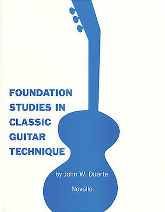Product Cover for Foundation Studies in Classic Guitar Technique